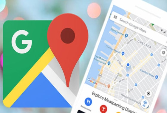 How to get on Google Maps